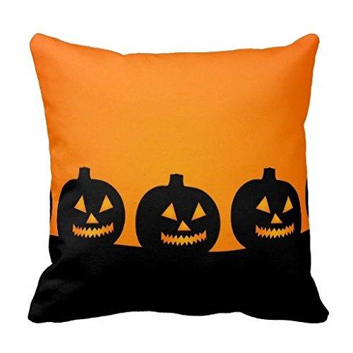 Louisa Maxine schwarz Halloween Illustration Kissenbezüge Kissen Schutzhülle Standard Größe Twin Seiten, Polyester, multi, 20x20 inch