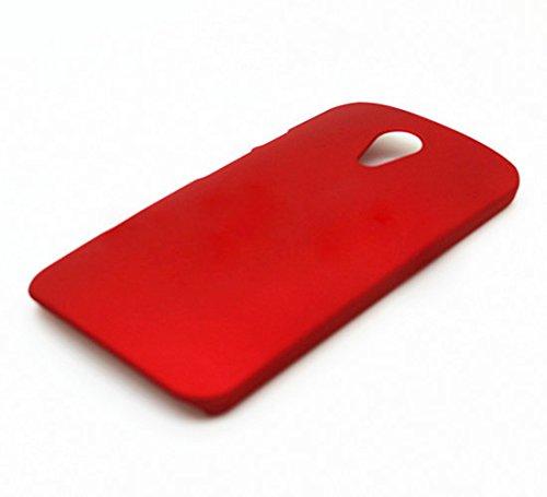 WOW Imagine Matte Hard Case Back Cover For Motorola Moto G 2nd Gen (Maroon Wine Red)