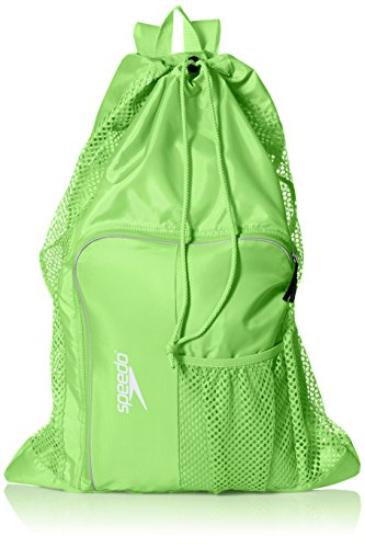 Speedo Deluxe Ventilator Mesh Equipment Bag, Jasmine Green