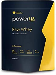 Powerus Raw Whey - 1 kg (Unflavoured )