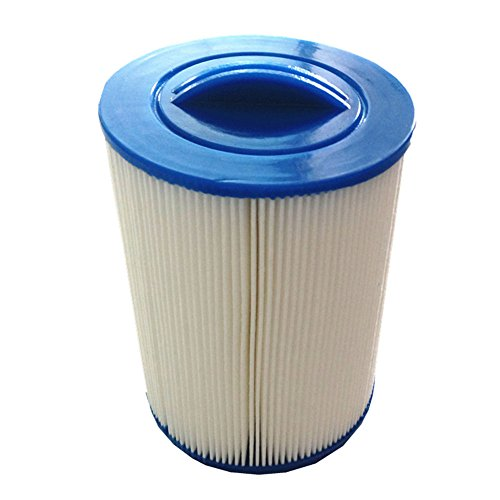 2 pezzi piscina filtro a cartuccia antimicrobica, 200mmx150mm, filo, vasca idromassaggio filtro di carta,2