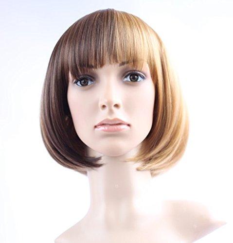BOBO perruques, perruque de beauté de style européen une qualité dégradé perruque Perruques