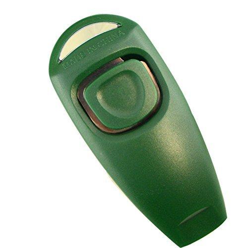Xmowes ultrasónico de múltiples funciones ladridos de perro de parada y la formación de lanzadera (Green)