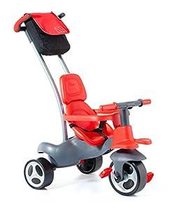Moltó- Urban Trike Easy Control Triciclo, Color Rojo, Miscelanea (17200)