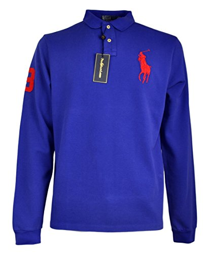 polo-ralph-lauren-manica-lunga-big-pony-colore-blu-sax-l-large