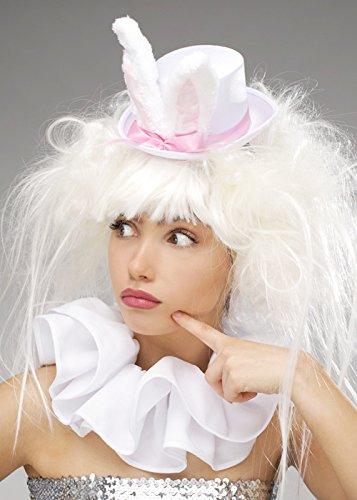 ite Rabbit Perücke und Hut (Das Weisse Kaninchen-kostüm Alice Im Wunderland)