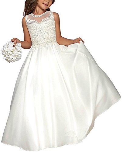 VIPbridal Lunghe ragazze fiore abiti per i bambini prima comunione abiti (13)