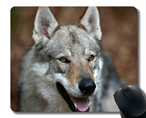 Gaming Mouse Pad Custom, Tier Wolf wild Große Mauspad aus Gummi