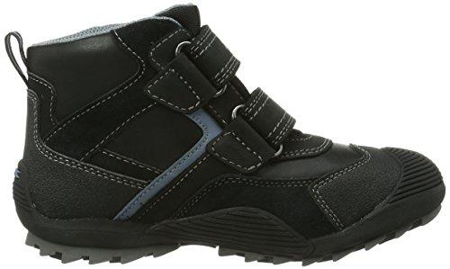Geox JR SAVAGE B ABX Jungen Hohe Sneakers Schwarz (BLACK/AVIOC9116)