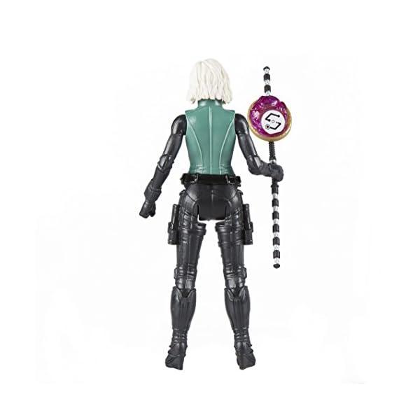 Marvel- Figura Infinity War, Black Widow con Gema y Accesorio (Hasbro E1411EU4) 3