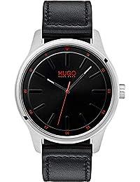 HUGO Reloj Analógico para Hombre de Cuarzo con Correa en Cuero 1530018