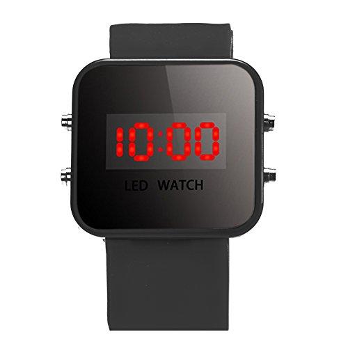 Unisex Boys Girls LED Digital Silicone Watch