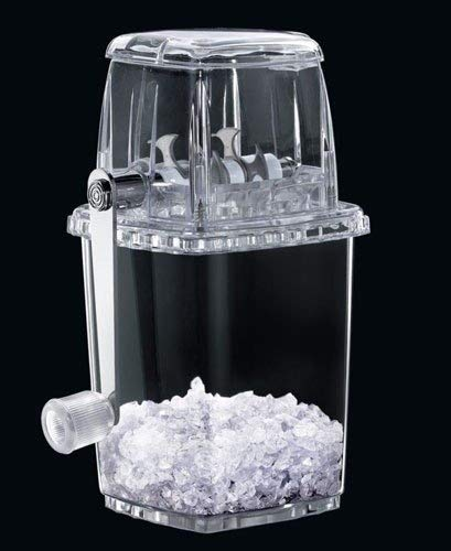 Transparent manuell Kunststoff Ice Crusher?Für Cocktails, Slush für die Kinder?von misterchef®