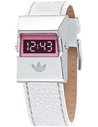 0c402d019705 adidas adh1326 señoras correa de cuero Digital reloj de acero inoxidable