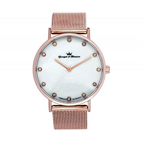 Reloj Yonger & Bresson Mujer Nácar blanca–DMR 079/BM