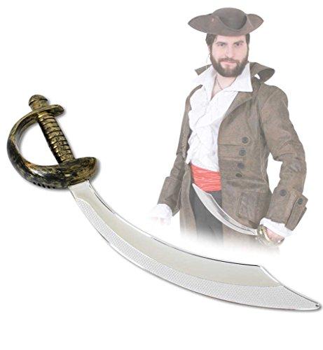 Butt Kostüm Pirate - Piraten-Säbel, ca. 47 cm, Halloween, Karneval, Mottoparty, Accessoire