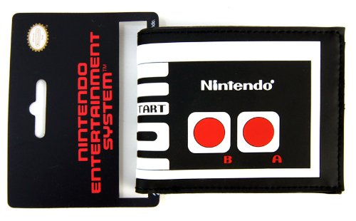 Original Nintendo NES mando a distancia Joystick Retro Desingn puerto Monai cartera–pequeño