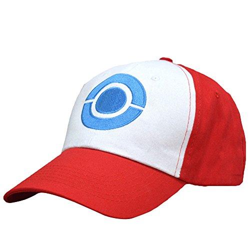 Coaste Antilane Pokemon Basecap Pokémon Ash Hut Kappe für Cosplay Costume Kostüm ()