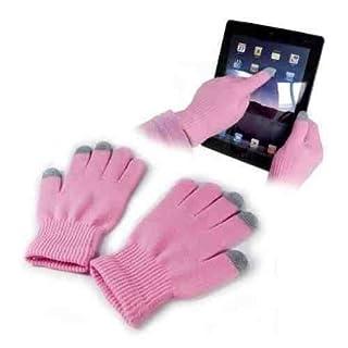 A-szcxtop(TM) Pink Touch Screen Warm Gloves