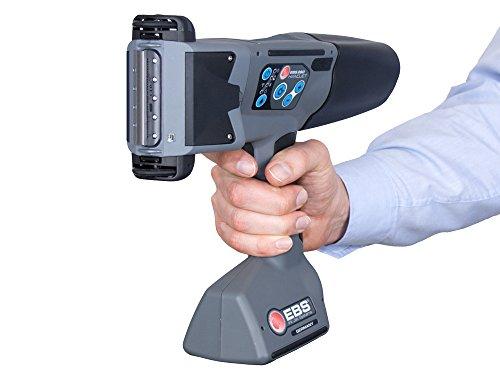 TSS EBS-260 Tintenstrahldrucker, Farbdisplay, 1D und 2D Barcodes, Bluetooth, WLAN, schwarze Aceton-Tinte, Reinigungskartusche, Reiniger