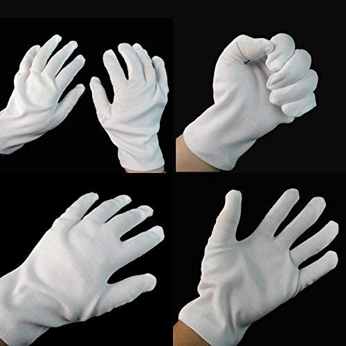 oween Costume White Gloves Party Decoration Mascara Luvas Do Dia Das Bruxas - Baseball Oxheart Shiver Aprilia Decor Hair Wedding Eyelash Halloween Newtone Gift Party Wa ()