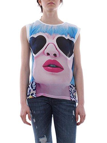 SilvianHeach Donna T-shirt Martuscelli Maglia Maglietta Top Oversize Bianco XS