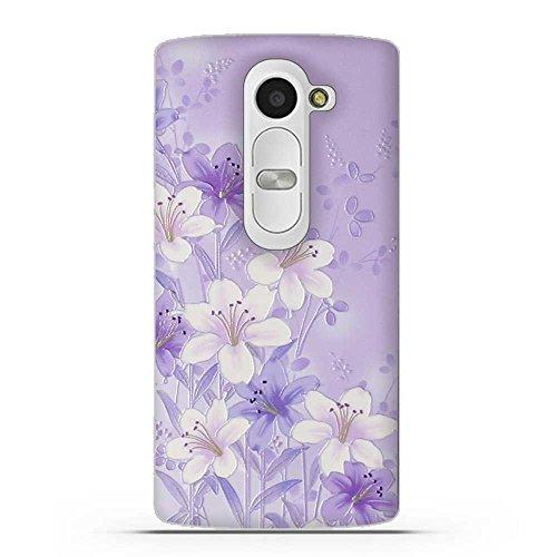 LG LEON 4G LTE C40(H340N H320 C50 H324) Hülle, Fubaoda 3D Erleichterung Mode Muster TPU Case Schutzhülle Silikon Case für LG LEON 4G LTE C40(H340N H320 C50 H324)