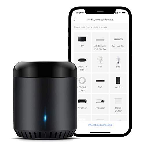 Oferta de Broadlink RM Mini3 Smart WiFi IR Control Remoto Universal Smart Home Hub, Todo en uno control infrarojo para todos tus dispositivos – Negro
