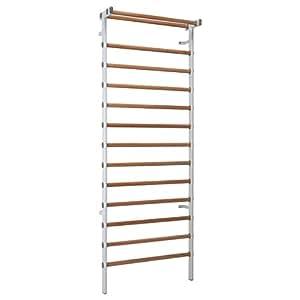 Sport-Tec Espalier en métal et en bois, 14 barreaux, 90 x 240 cm