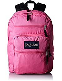 JanSport Big Student Backpack, Fluorescent Pink