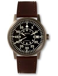 Aristo Vollmer 5H85 - Reloj , correa de cuero color marrón