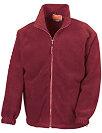 Result - Sweat-shirt -  Homme -  Rouge - Bordeaux - moyen