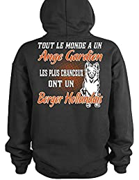 TEEZILY Sweat à Capuche Ange Gardien - Berger HOLLANDAIS 03ab9a7bf5b