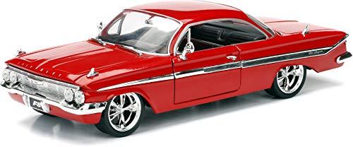 Jada Toys-98426r-Chevrolet Impala-Fast and Furious 8-Maßstab 1/24-Rot