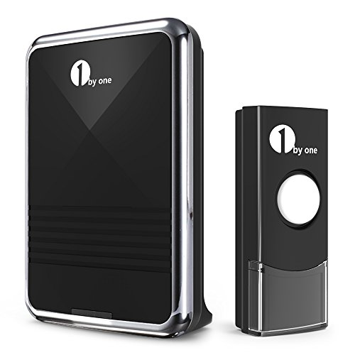 1Byone Easy Chime Wireless Doorbell Door Chime Kit