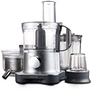Kenwood MultiPro Compact Food Processor 28 Functions, FPM270, Silver, 1 Year Brand Warranty