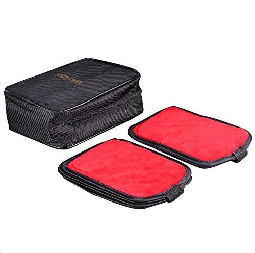 Zomei Filtro de lente de 16bolsillos bolsa cinturón puede almacenar Circular/filtro cuadrado de hasta 100x 150mm), para Canon, Nikon, Sony cámara filtros Cokin A/P/Z y UV CPL FLD filtro, filtro de color negro tipo cartera