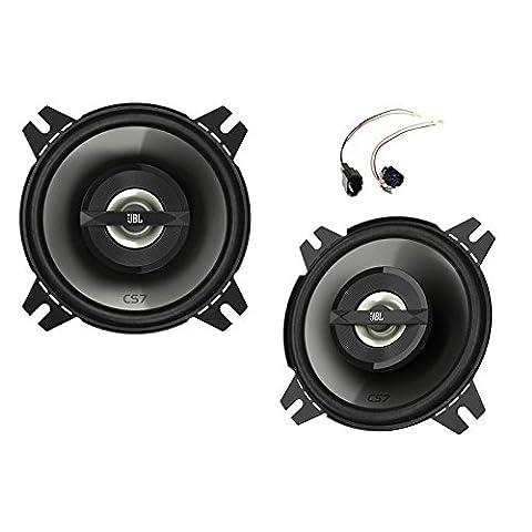 JBL CS742 Haut-parleurs enceintes voiture 10 cm 90 watts avec adaptateurs