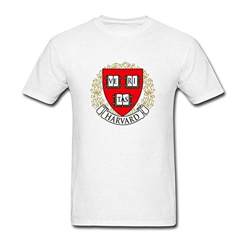 Arnoldo Blacksjd Men's Harvard University1 Design T Shirt Large