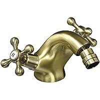 DP Grifería - Grifo de bidet monomando, color bronce, serie Almendro