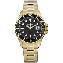 Dugena Men's Quartz Watch 4460422 with Metal Strap