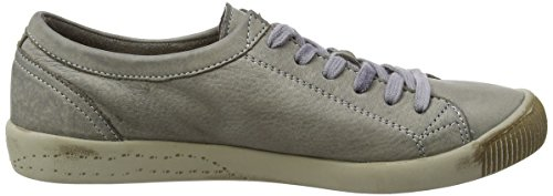 Softinos Isis washed leather, Derbies à lacets femme Beige - Beige (taupe 529)