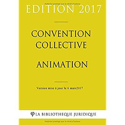 Convention collective Animation
