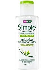 Simple Gesichtspflege Reinigendes Mizellenwasser, 200 ml