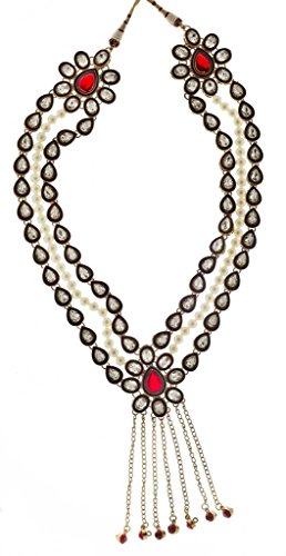 Syonaa Varmala in Elegant Design -- Made with High Quality Pearls and Stones(Mala251)