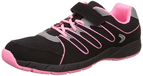 Clarks Traverser la chaussure de Sport Junior Girls Dart en différentes couleurs Black Synthetic