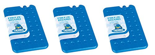 41GFMCN5KSL - Thermos Cool Bag Ice Pack Freeze Board 400G PACK OF 3
