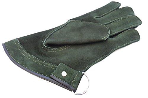 Qualität Single Layer Weiches Wildleder Falknerei kurz Handschuhe/Vogel Handhabung Handschuhe/Tier Handschuhe. (Rindsleder Wildleder-handschuhe)