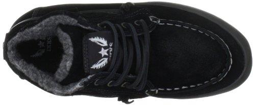 IKKS Davon W Suede I00835, Chaussures basses garçon Noir black