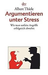 Argumentieren Unter Stress Ebook